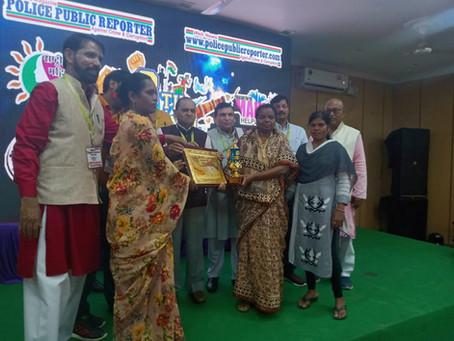 Mamta Kujur receives award