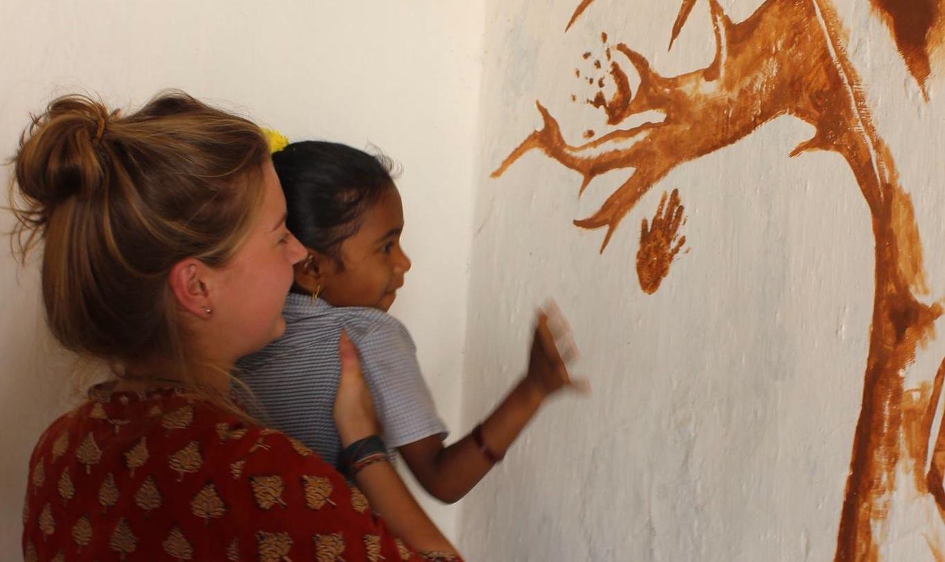 Painting in Kaparamajji