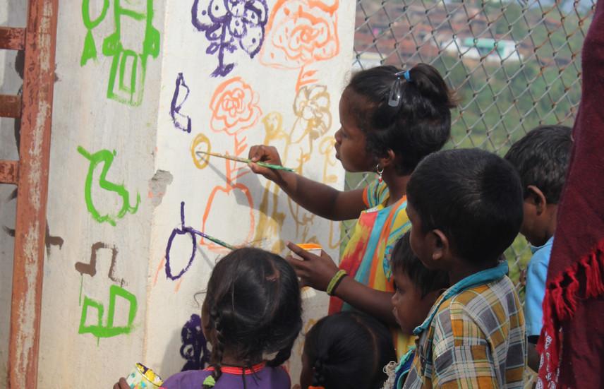 Children become a part of a prosperous Kuvi community