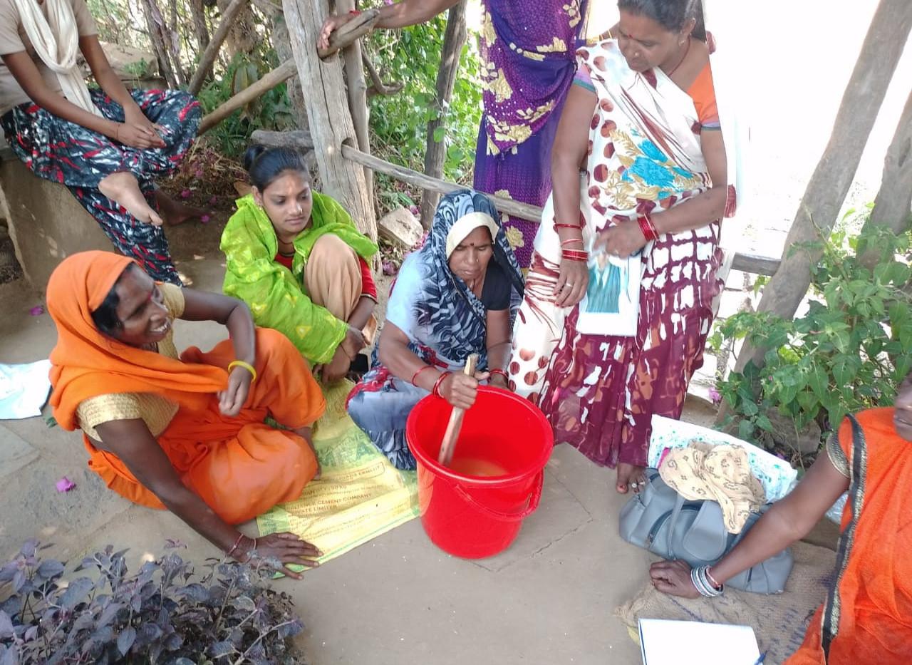 Handmade Soap Making In Panna