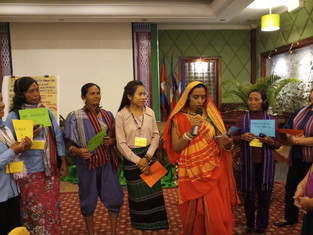 4th Regional skillshare workshop of the women in action on mining in asia