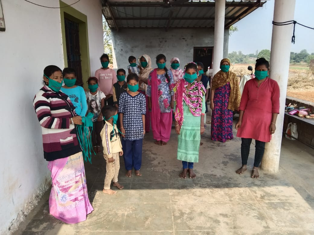 Mask Campaignon Child and Labour rights