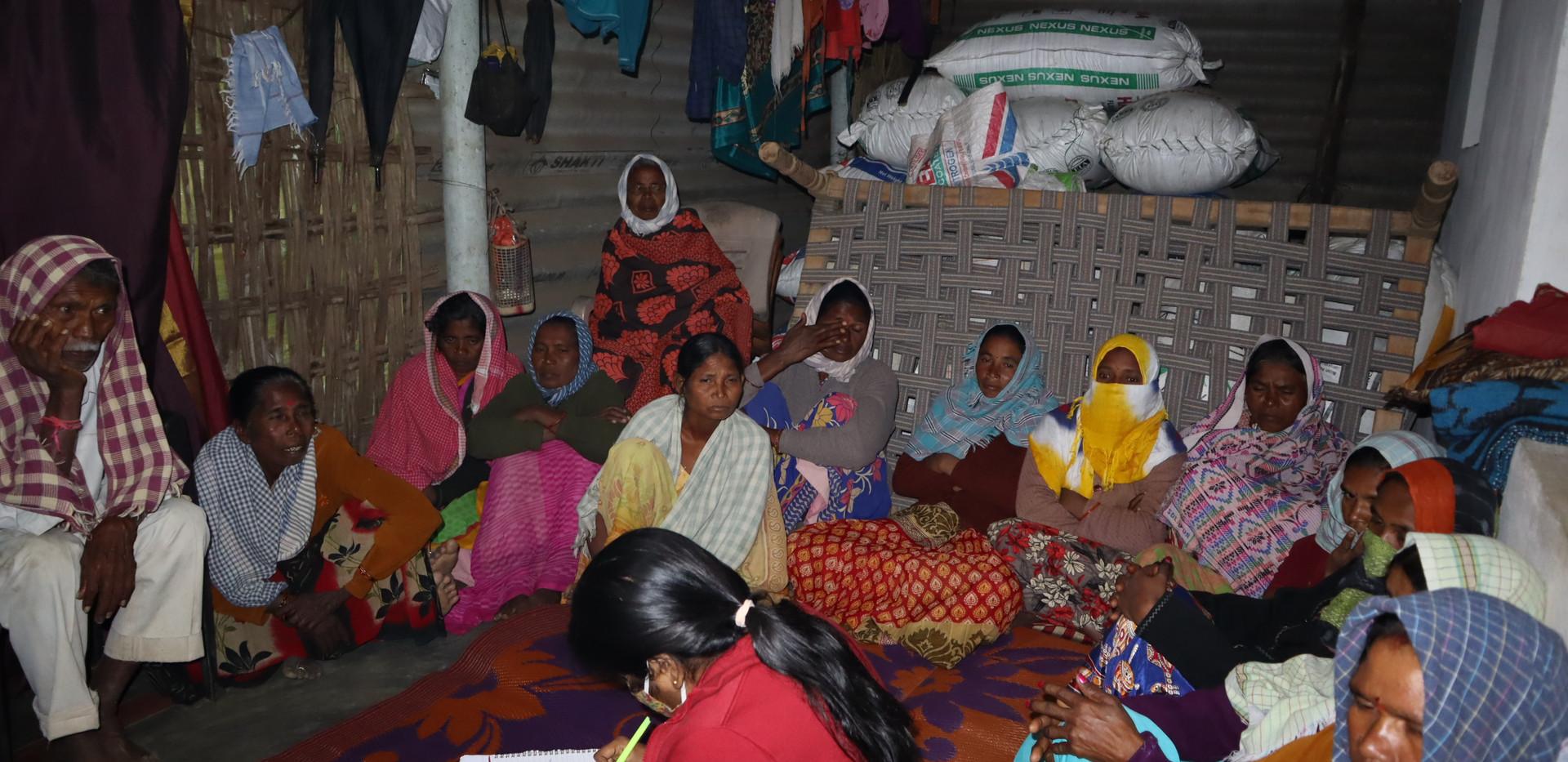Meeting With Satyanarayanapuram Community