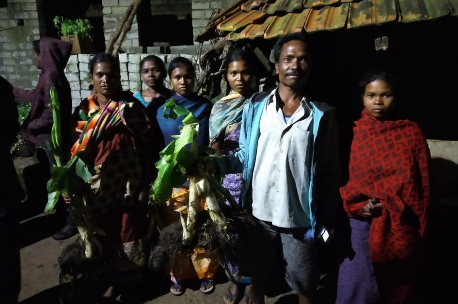 Plants Distribution in Visakhapatnam