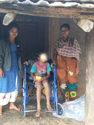 Distribution of Equipments to Disabled Children