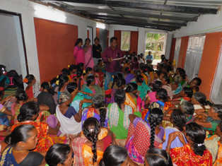 Widows gather for demanding property rights