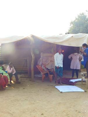 Field Visit to Satyanarayanapuram- A Violation of Tribal Land Rights