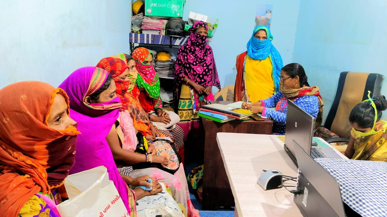 Registration of Labour card for women