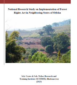 National Research Study on Implementation of Forest Rights Act in Neighbouring State of Odisha