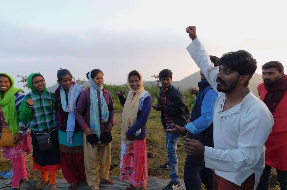 Theatre workshopfor Tribal youth