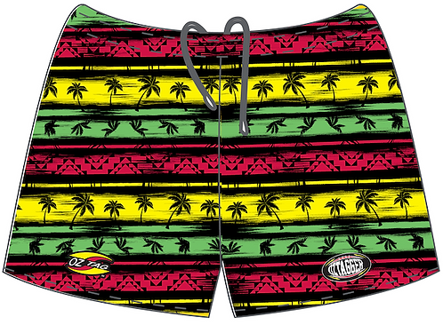Jamaican Me Crazy Shorts
