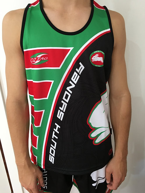 Souths Kids Boys Training Singlet 2018