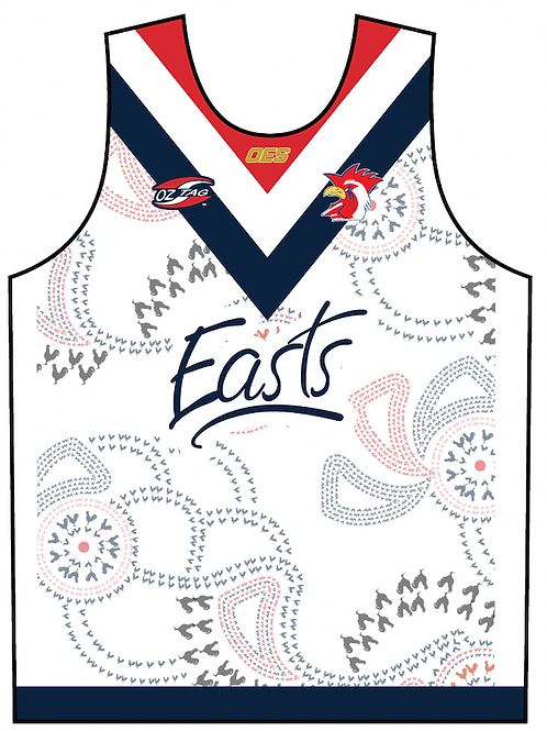 Easts Boys / Mens Rep Playing Singlet 2021