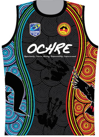 Ladies Oceania Cup Playing Singlet