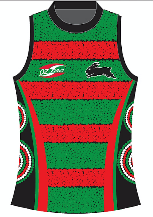 Souths Ladies Singlet V-NECK