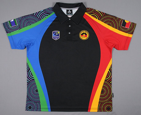 Oceania Cup Ladies Polo Shirt Indigenous