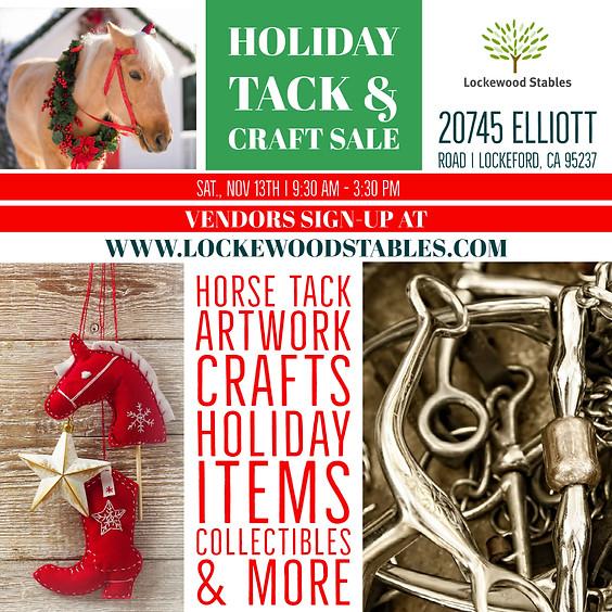 Holiday Tack & Craft Sale
