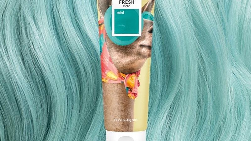 Wella color fresh mask (mint)