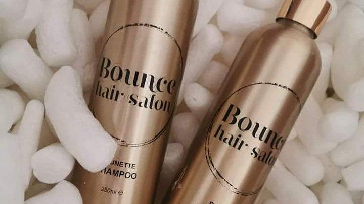 Brunnete added pigment shampoo+conditioner  pack