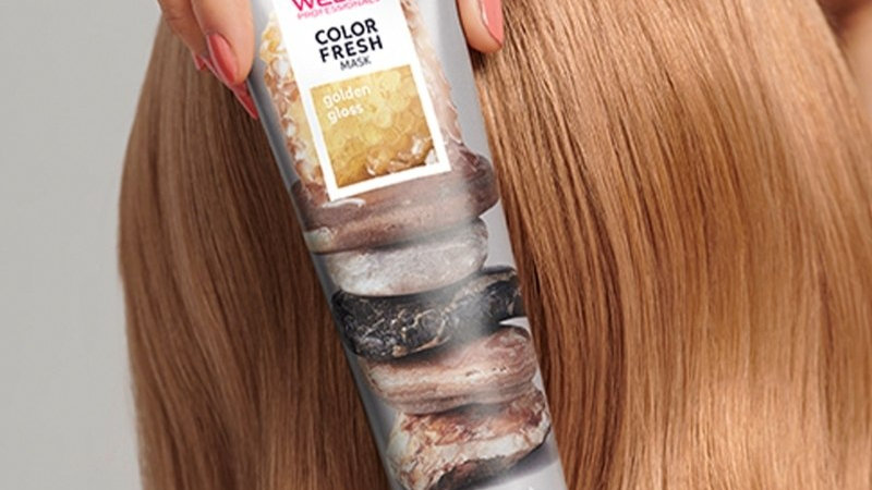 Wella color fresh mask (golden gloss)
