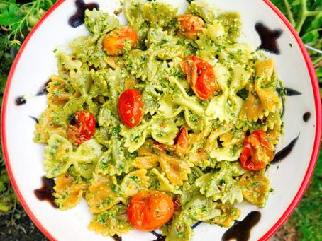 First Blog Post & Dairy-Free Pesto Recipe!