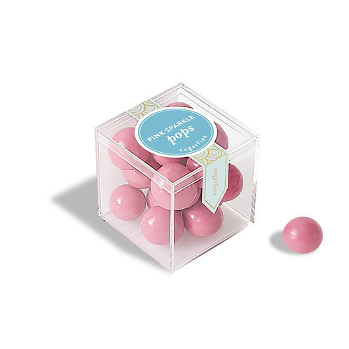 Sugarfina Pink Sparkle Pops - Small Cube