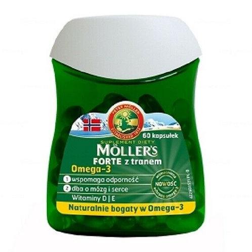 Tran Moller's Forte, Fish Oil 60caps