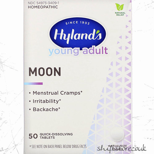 Hyland's, Young Adult, Moon, menstrual pain relief 50 Tablets