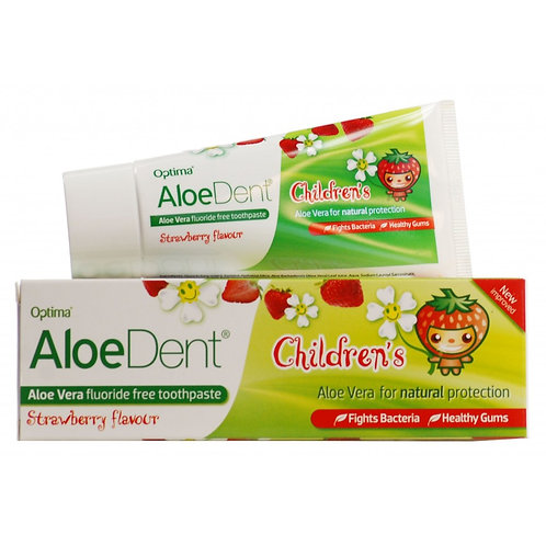 AloeDent Childrens Strawberry 50ml