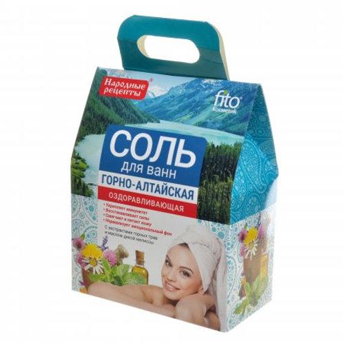 FitoKosmetik Bath salt Altai healing 500g
