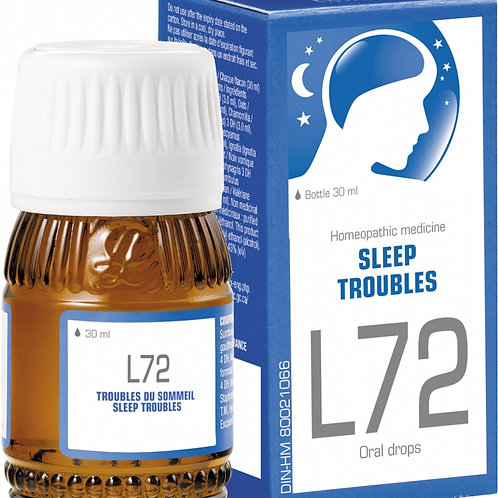 Lehning L72 30ml drops for stress & sleep disorders, depression & tension