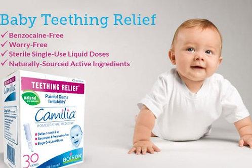 Boiron Camilia Teething Relief 10 Doses, 1ml each