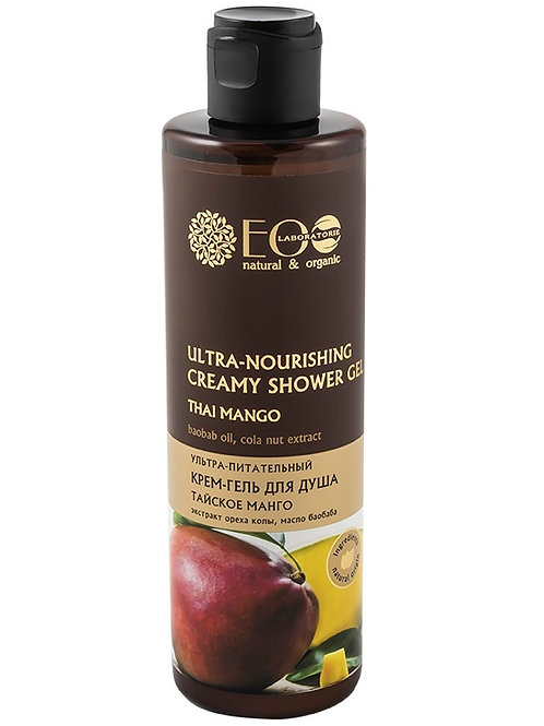 EO Laboratorie Ultra Nourishing Natural Creamy Shower Gel Thai Mango 250ml