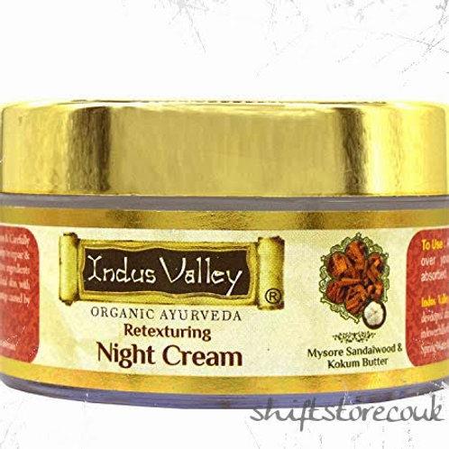 Indus Valley Organic Ayurveda Retexturing Night Cream 50ml
