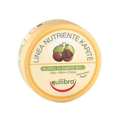 EquilIbra Linea Nutriente Karite Burro Di Karite 90% Natural Shea butter 100ml