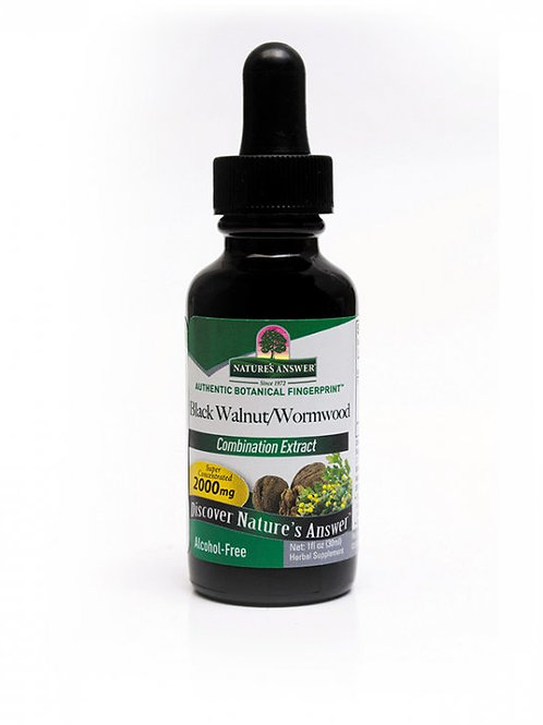 Nature's Answer - Black Walnut/wormwood (Combination Exctract) 30ml