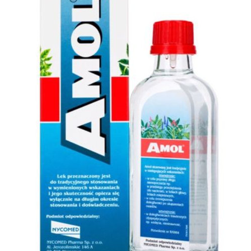 AMOL Multipurpose Herbal Tonic Internal And External Use 250ml