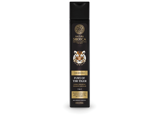 MEN Fury of the Tiger – Energy Shampoo for Body and Hair (2in1) 250ml