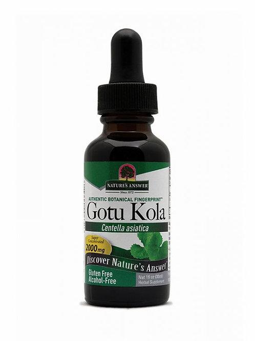Nature's Answer, Gotu Kola Alcohol-Free 30 ml