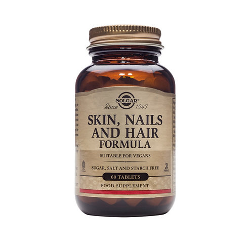 Solgar Skin, Nails and Hair Formula 60 Tabs
