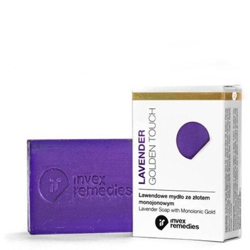 Invex Remedies Lavender Soap with Monoionic Gold AU100 - 100g