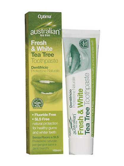 Australian Tea Tree Fresh & White Toothpaste 100ml