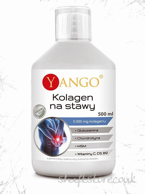 Yango Collagen + Glucosamine + Chondroitin + MSM For Joints 500ml