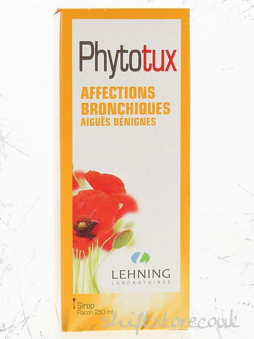 Lehning Phytotux Homeopathic Syrup for mild bronchial affections - 250ml