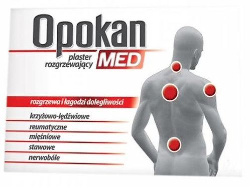 Opokan Med Heat Back & Shoulder Pain Relief Heat Pad 1pc