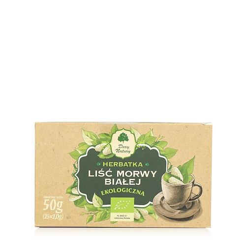 Organic White mulberry leaf 25 Teabags x 2g