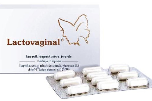 Lactovaginal Probiotic 10 Caps For Vaginal Infections