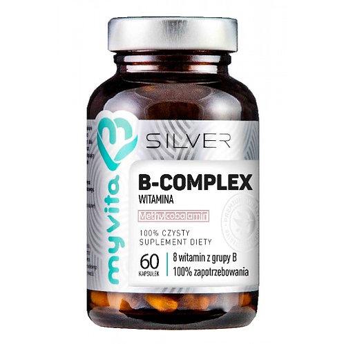 Myvita Silver Pure Vitamin B-Complex 100% 60 Caps