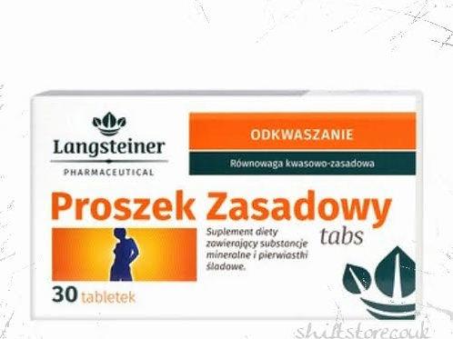 Langsteiner Alcaline Powder in Tabs - 30 Tablets