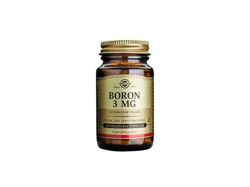 Solgar Boron 3 mg VCaps